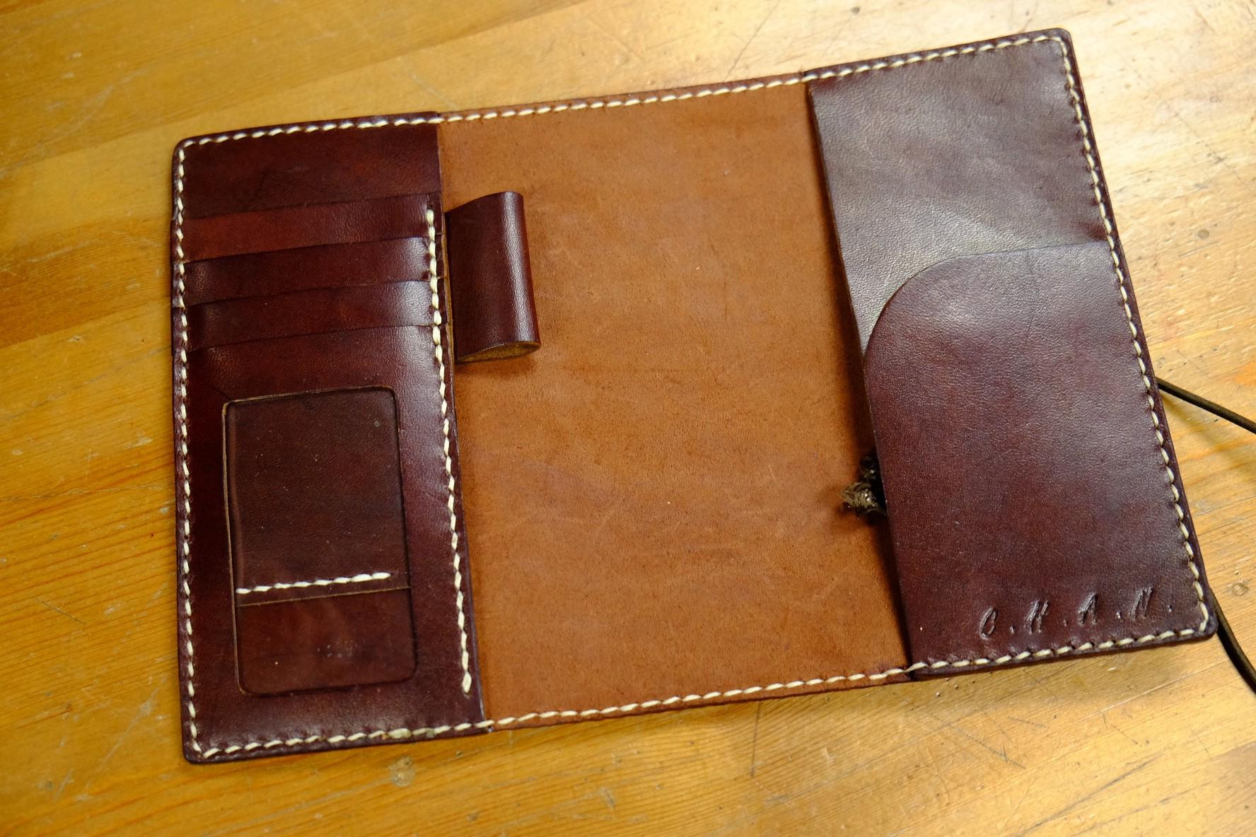 Leather Book Cover Diy : Motto carpe diem-handmade leather workshop 皮革課程 semi